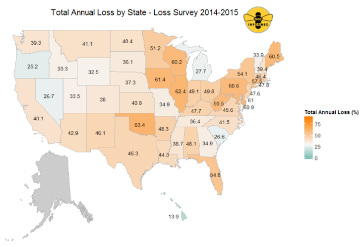 us-bee-colony-loss-map